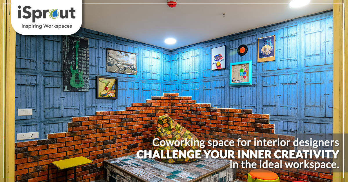 Coworking space for interior designers. Challenge your inner creativity in the ideal workspace.