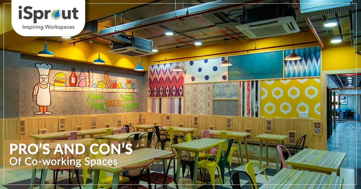 pro's and con's of co-working spaces