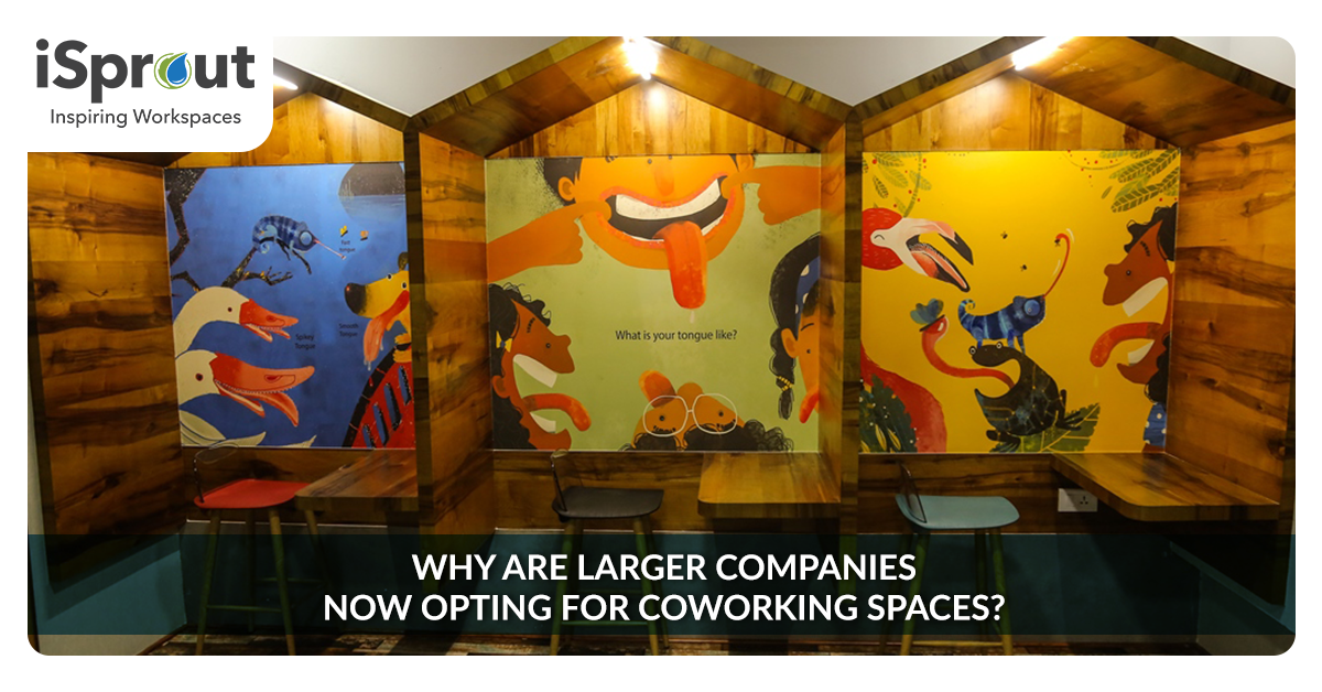 large companies for coworking spaces